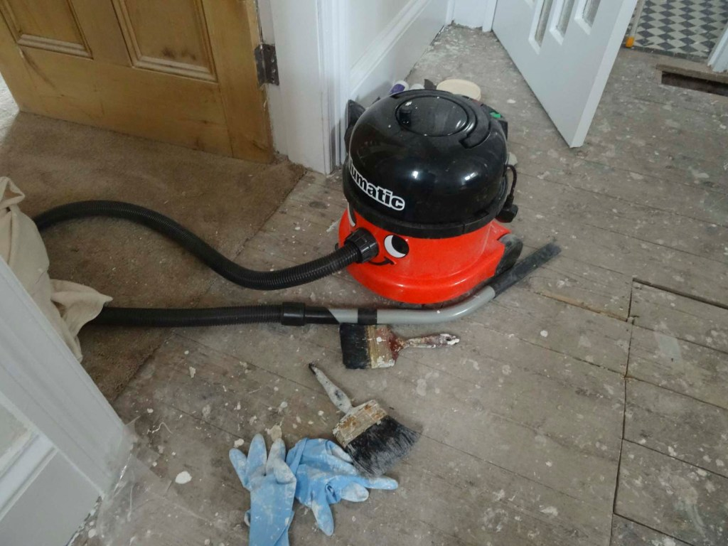 roughie toughie Henry vacuum cleaner - essential tools for property developers