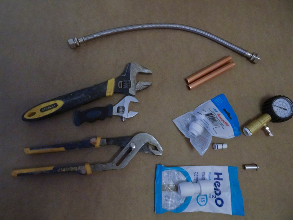 OK, this is a bit more realistic - DIY pipe testing tool