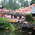 The Thrill of Big Thunder Mountain Railroad!