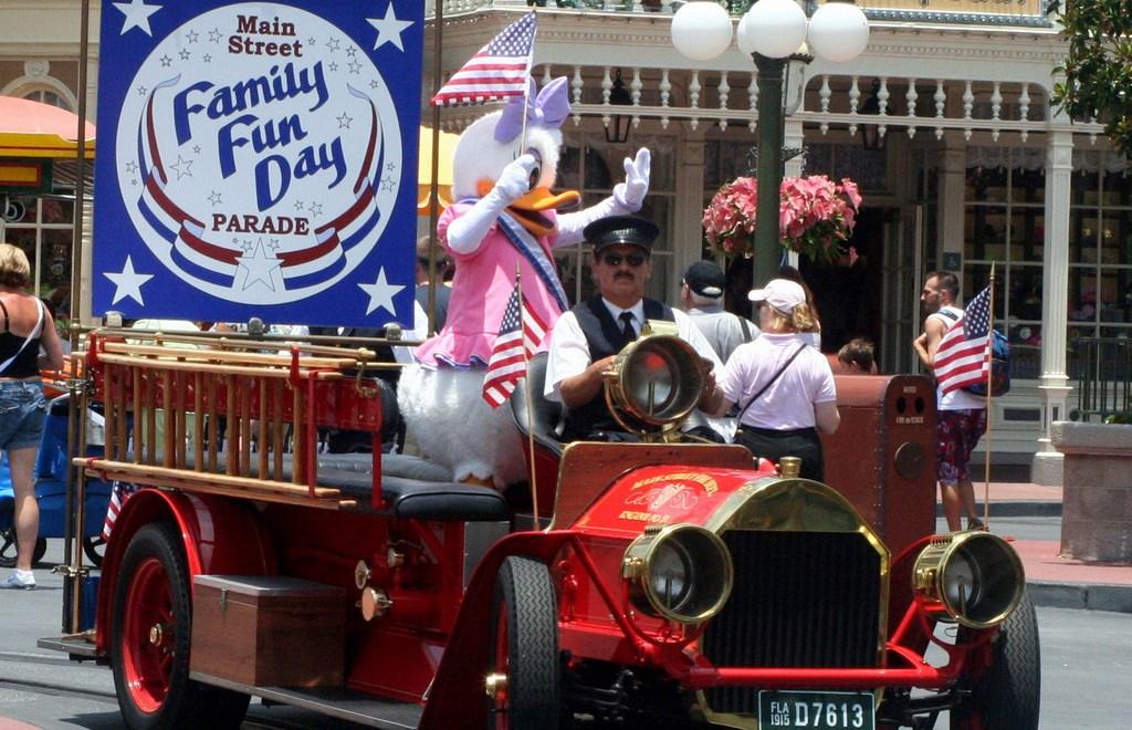 Patriotism at Disney