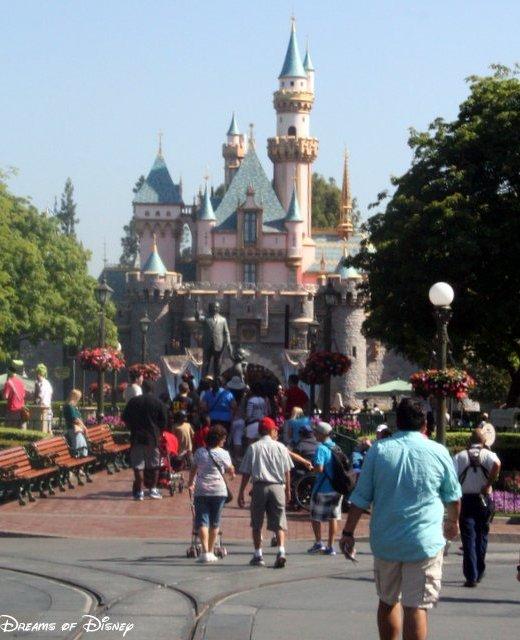 Disneyland Construction