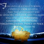 Prayers for the Week – Merry Christmas!