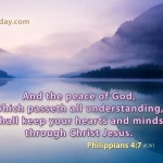 Prayers for the Week – Philippians 4:7