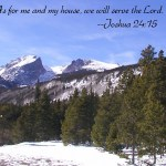 Prayers for the Week – We Will Serve the Lord