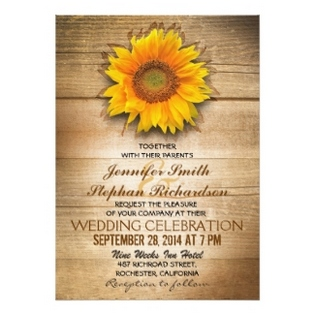 Country Themed Wedding Invitations With Pretty Appearance For A Invitation Design Layout 3