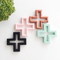 Swiss Cross Teething Toys $9.95