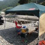 キャンプ用テーブル(2013年8月)