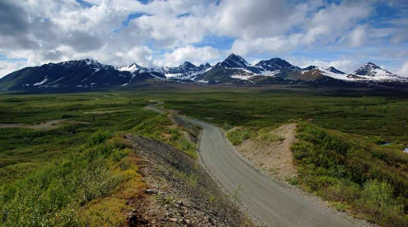 Driving the Denali Highway, Alaska: Eastbound
