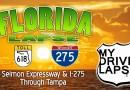Selmon Expressway into Tampa Dashcam