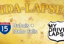 Ida-Lapse! Idaho's Interstate 15 from Dubois to Idaho Falls, Southbound Dashcam Drive