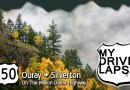 Ouray to Silverton Colorado, on the Million Dollar Highway: Full Length Dashcam Drive