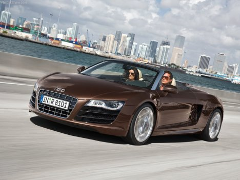 Audi-R8 Spyder 5.2 FSI Quattro