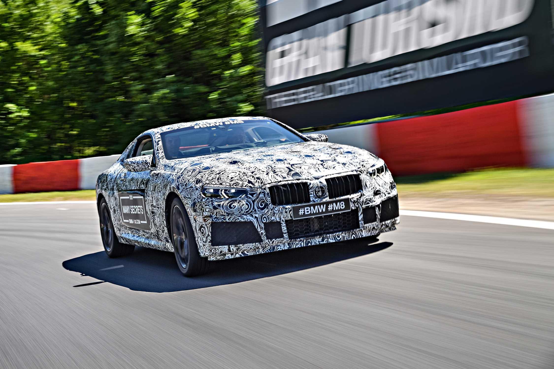 The BMW M8 - sporty BMW 8