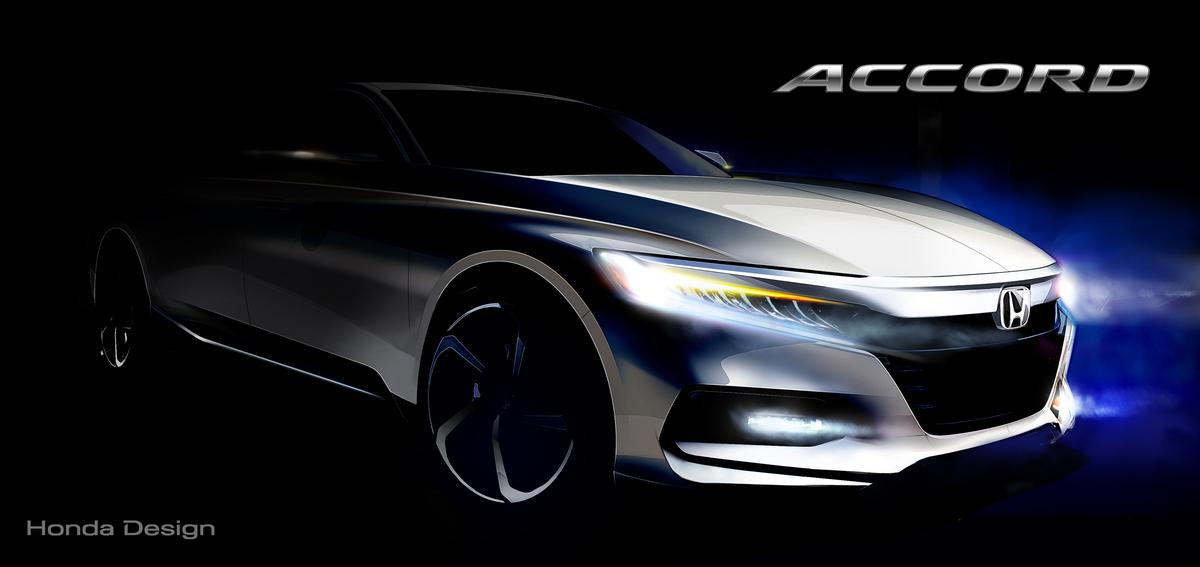 World Debut of Dramatically-styled 10th Generation Honda Accord