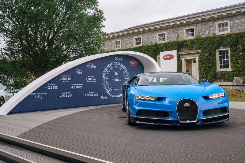 Bugatti makes an impressive appearance at the Goodwood Festival of Speed 2017