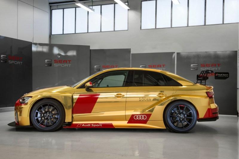 Audi Sport customer racing presents the 100th Audi RS 3 LMS