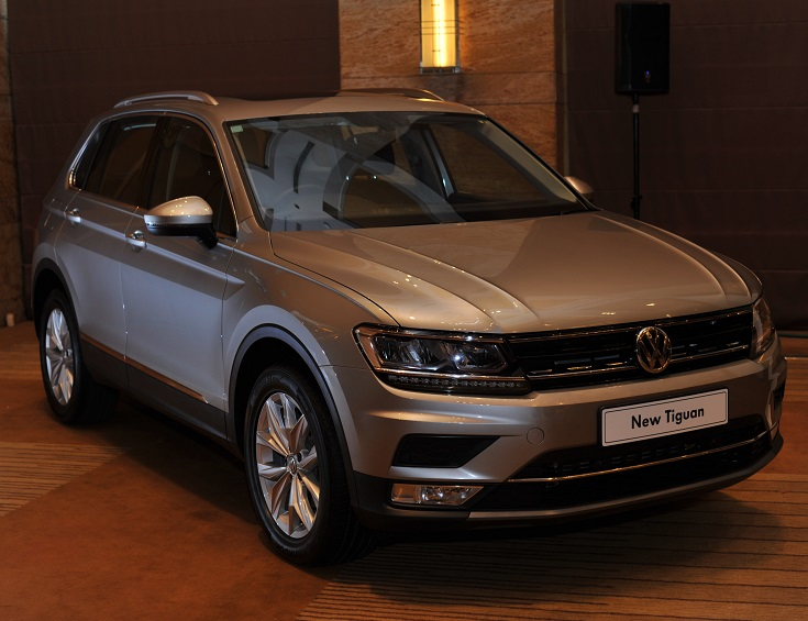Volkswagen Tiguan enters the premium carline segment in India