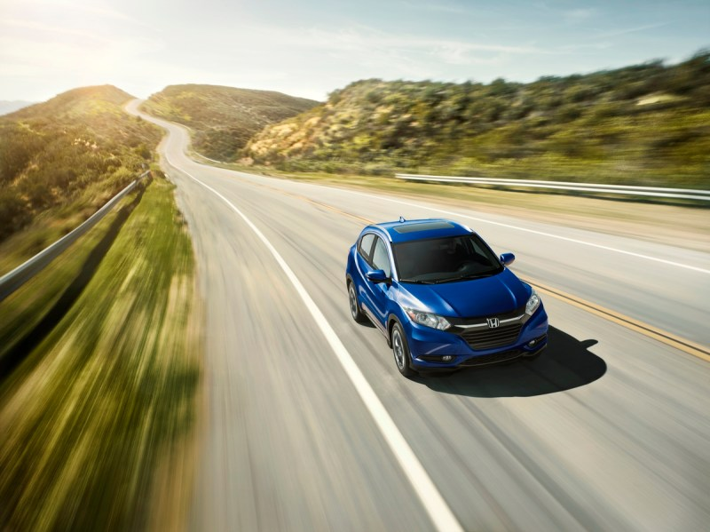 Versatile, Segment-Leading 2018 Honda HR-V Arriving at Dealerships