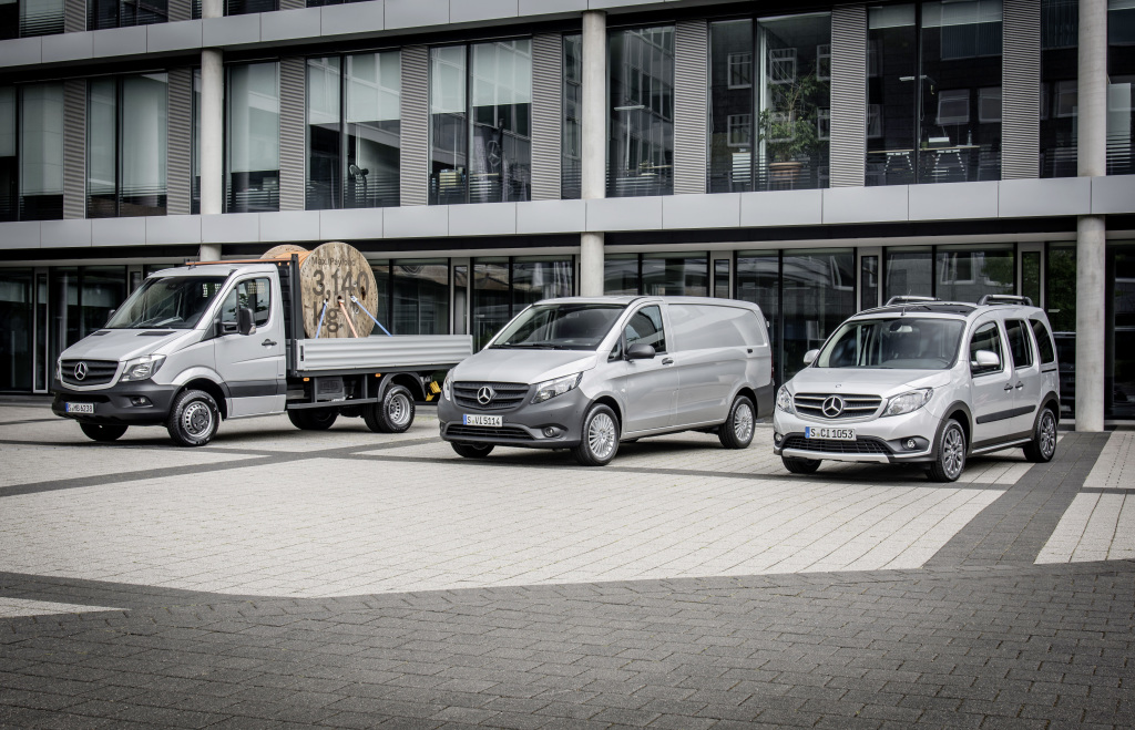 Five years of continuous growth: Mercedes-Benz Vans sets new sales records