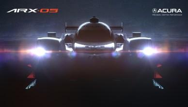 Acura Teases New ARX-05 Prototype Race Car Ahead of Monterey Automotive Week