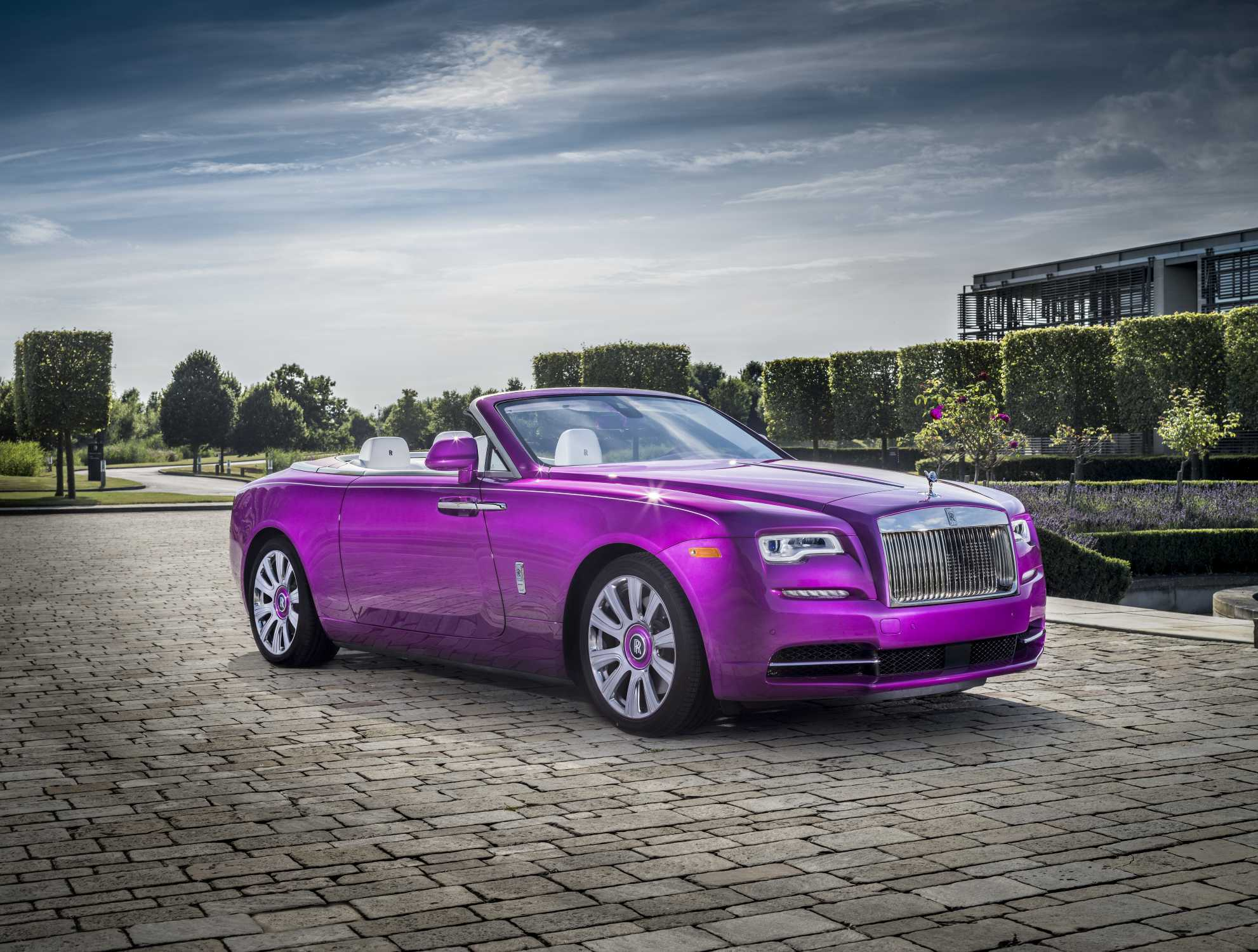 Rolls-Royce Motor Cars Delivers On A Bespoke Color Challenge Stemming From A Beautiful Flower