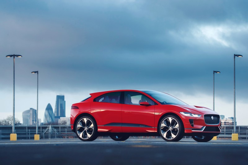 Jaguar I-PACE Concept named 'Most Significant Concept Vehicle of 2017'