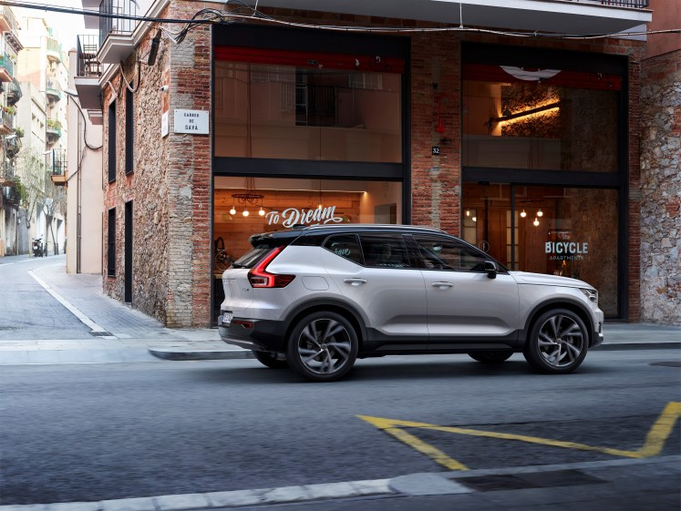 New XC40 completes global Volvo line-up for fast-growing premium SUV segment