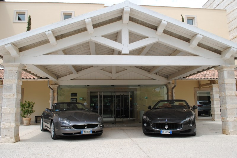 Collectors from all over Europe gather for the 38th Maserati International Rally