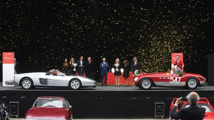 Ferrari Celebrates 70 Years Of History At Fiorano