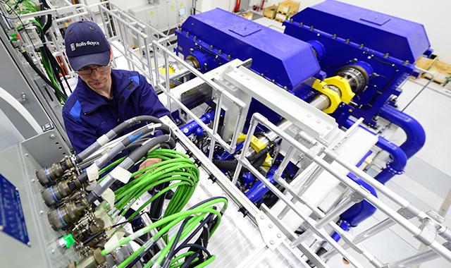 Rolls-Royce Power Gearbox at Dahlewitz