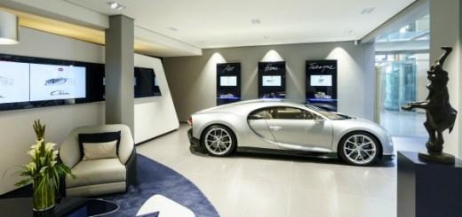 Bugatti opens Hamburg showroom with new design