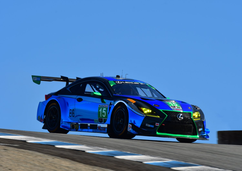 Lexus RC F GT3s To Compete at Season-Finale Petit Le Mans