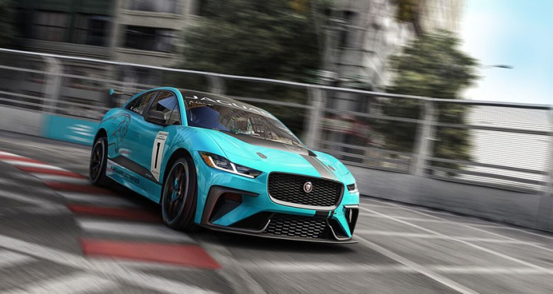 Jaguar launches I-PACE eTROPHY – the world's first single-make electric race series