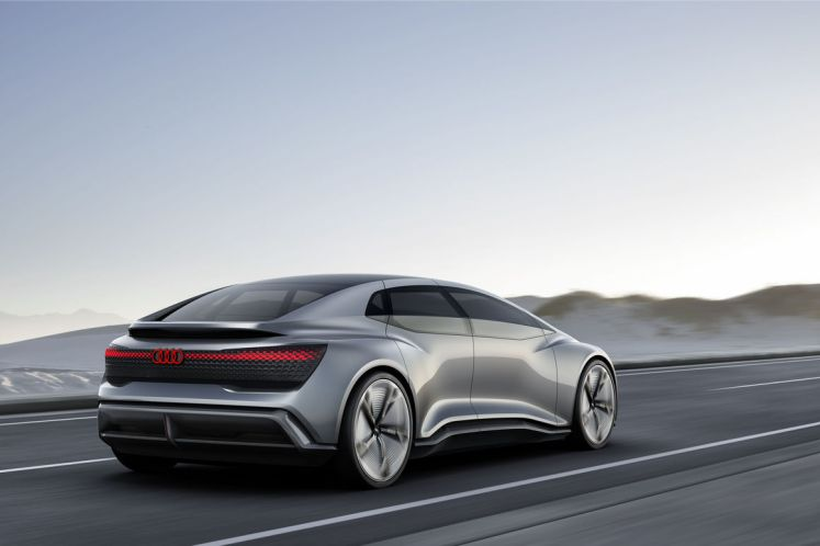 Audi Aicon concept car –  autonomous on course for the future