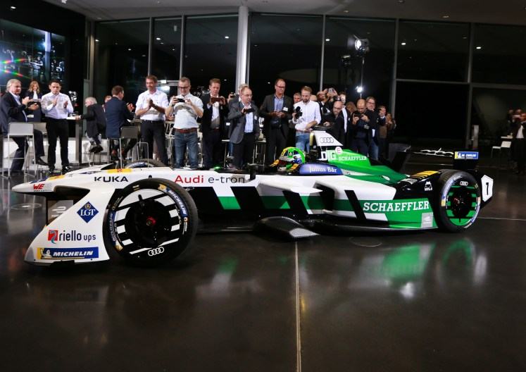 Emotion instead of emission: Audi heading for the motorsport future in electric power