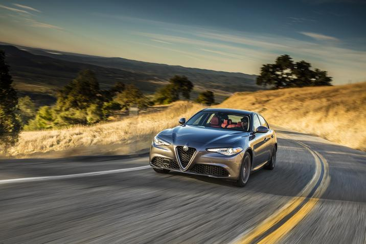 2017 Alfa Romeo Giulia Named IIHS Top Safety Pick+