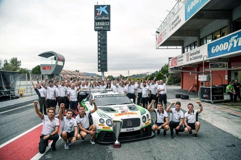 Bentley Wins Blancpain Gt Series Endurance Title