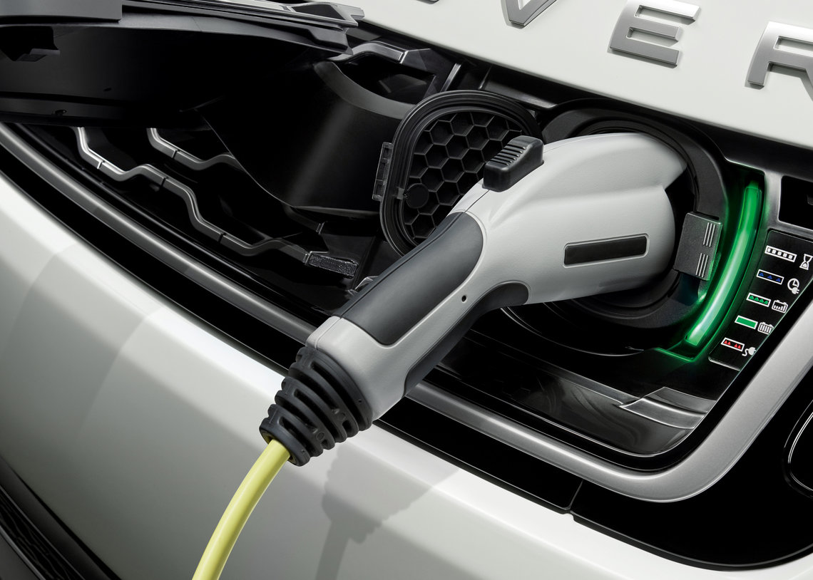 Introducing Jaguar Land Rover's first plug-in hybrid electric vehicle