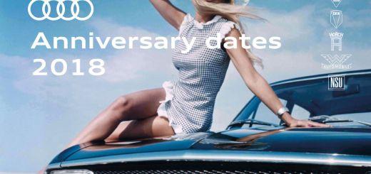 Audi Anniversary Dates 2018