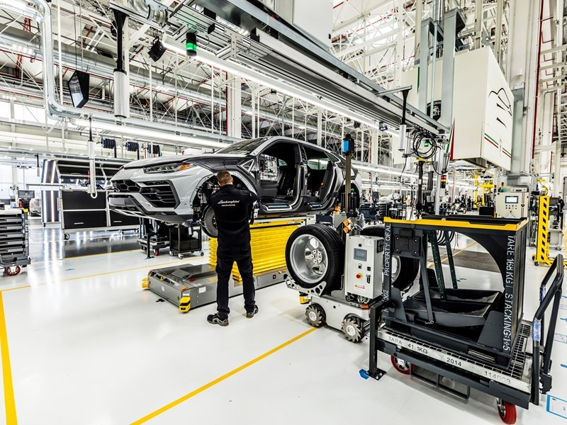 Automobili Lamborghini is Top Employer Italia 2018