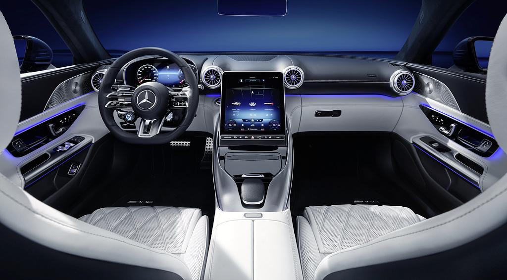 Mercedes-AMG SL Exclusive Interior
