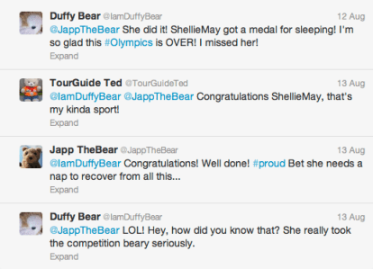 ShellieMay wins GOLD!