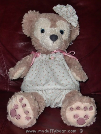 Duffy the Disney Bear's girlfriend ShellieMay summer pajamas