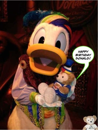 Happy Bday Donald Duck_IMG_8536