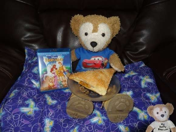 Duffy the Disney Bear gets Disney Hercules Movie