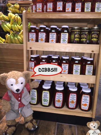 """I call dibs on the honey shelf!"""