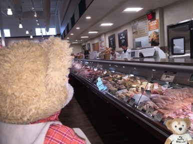 I've never seen a spread of such bearUteeFUL meats and poultry.