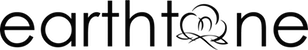 earthtone logo black with transparent background