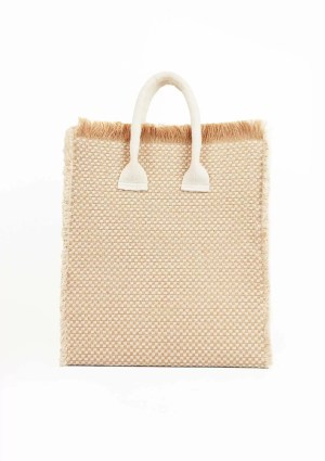 Maritimus shopper bag made from sustainable materials, front view