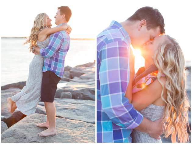 Dreamy Beach Engagement in Ocean City